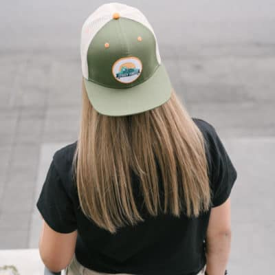 The Foggy Forest Snapback Trucker Hat