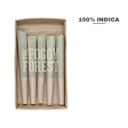 Pink Bubba AAA+ | Royal Moby | Buy Cannabis Weed Joints Online in Canada | The Foggy Forest